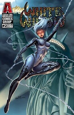White Widow 2 Ace Continuado B Variant Red Giant Jamie Tyndall Nm
