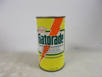 1975  Stokely Gatorade Thirst Quencher steel drink can.