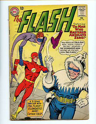 Flash 134 Captain Cold Infantino art