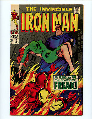 Iron Man 3 The Fearsome Freak! Nice copy FN 6.0