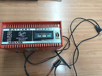 Absaar 12V 11A Rms Battery Charger Heavy Duty