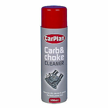 CarPlan Carb and Air Intake Cleaner Lubricate Carburettor Choke Throttle 500ml