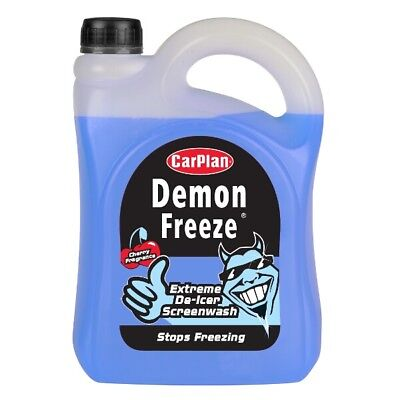 CarPlan CDF025 Demon Freeze Screen Wash 2.5L 2.5Litres Windscreen Cleaner