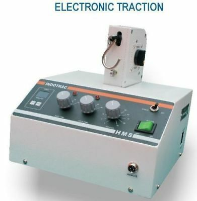 New Portable Electronic Traction Unit model INDOTRAC Cervical Therapy Machine &G