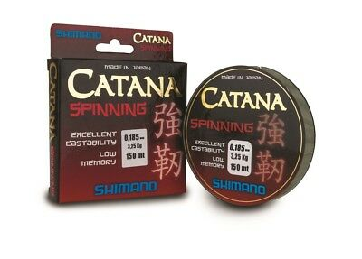 Shimano Catana Spinning Line 150m Mono ALL SIZES