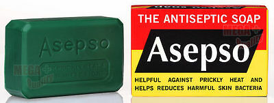 ASEPSO Antiseptic Soap Antibacterial Agent Healthy Skin