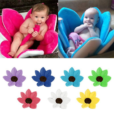 Lotus Baby Bath Blooming Flower Foldable Infant Bathtub Cushion Shower Cushion