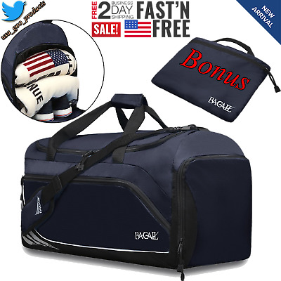 808f7c95c1 Duffle Bag Travel Mens Womens Overnight Sports Gym Large Weekender  Waterproof