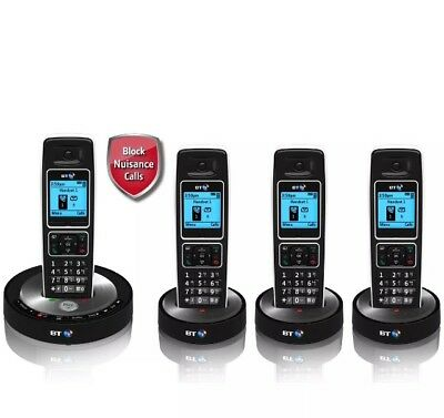 BT 6510 Cordless Telephone with Answer Machine - Quad.