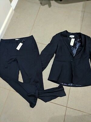 BNWT womans navy suit TARGET jacket size 10 and pants size 12