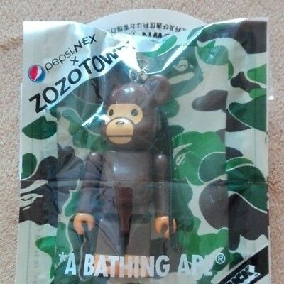 A BATHING APE BE@RBRICK Pepsi × ZOZOTOWN Bearbrick Strap charm Japan Limited