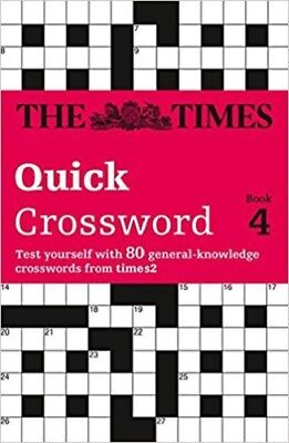The Times Quick Crossword Book 4 (Paperback) NEW Book 80 Crossword Puzzles