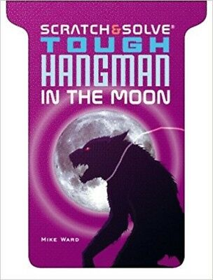 NEW Scratch & Solve® Tough Hangman in the Moon Scratch Mike Ward