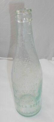 Vtg McAvoy Brewing Co Chicago ILL Crown Top Beer Bottle Pre Pro BIMAL IL