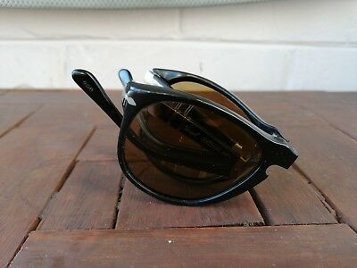 Persol Ratti Mod 806 Folding Brown  Vintage Made In Italy Sunglasses 70's