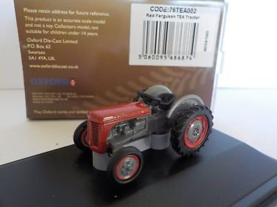 NTEA002 Oxford Diecast Red Ferguson Tractor 1//148 Scale N Gauge