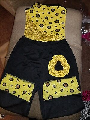 NEW Creations by Cicci Dance Outfit Bodysuit Child Med, Pants Lg Never Worn