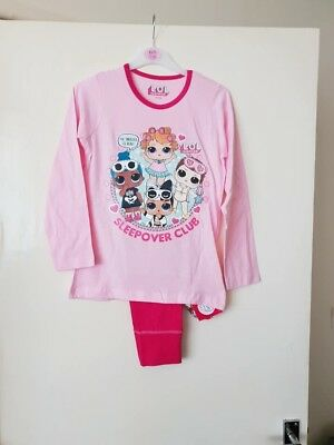 girls lol surprise doll pyjamas. Sleepover club. Age 4-5