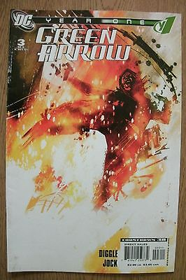 GREEN ARROW - Year One  #3 of 6 - DC COMICS . FREE UK P+P ......................