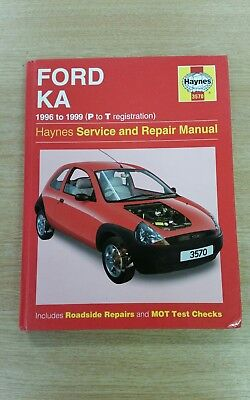 Ford Ka Mk  Haynes Workshop Manual  In Good Cond Free Pp