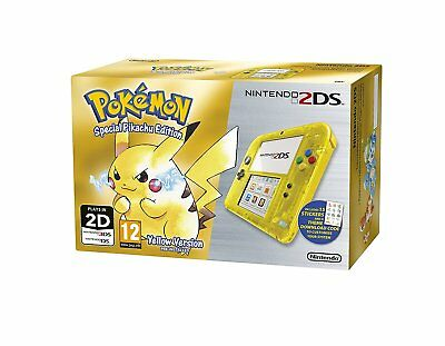 Nintendo 2DS Special Pikachu Edition USED