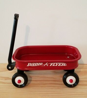 little radio flyer red metal wagon small size for dolls and plush 12