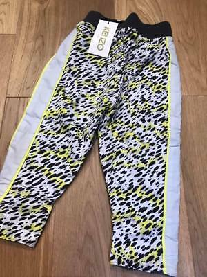 Brand new  KENZO kids tiger reversible jogger bottoms  Rrp £85  Age 2