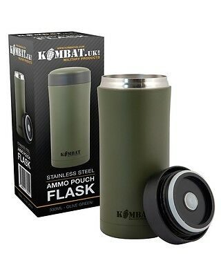 Army Cadet Military Ammo Flask PLCE (Green)