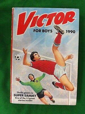 Victor Annual 1990 In Good Condition