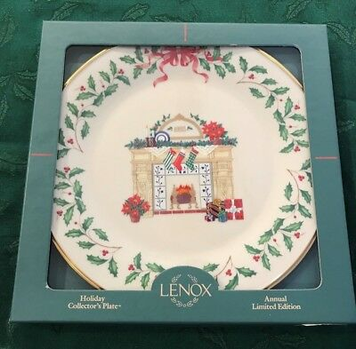 Lenox 1993 Annual Holiday Christmas Plate 3rd in Series MIB