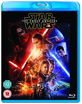 Star Wars The Force Awakens With Light Side Limited Edition Sleeve Blu-Ray NUOVO