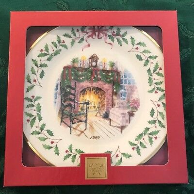 Lenox 1999 Annual Holiday Christmas Plate 9th in Series MIB