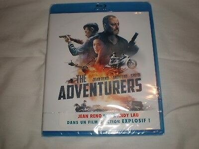 the adventurers jean reno blu ray neuf sous blister