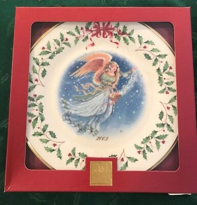 Lenox 2003 Annual Holiday Christmas Plate 13th in Series MIB