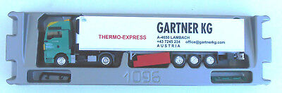 Herpa #913669 MAN TGX KK GARTNER Thermo-Express, 1/87, OVP