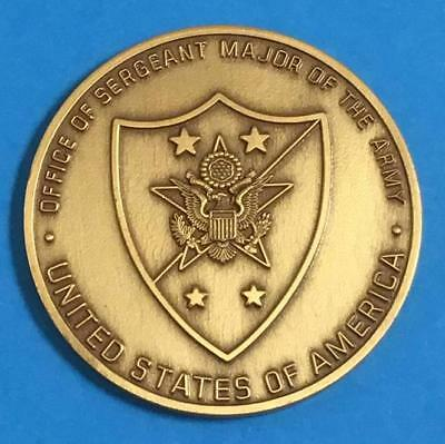 Office Of Sergeant Major Of The Army Challenge Coin SMA Richard A. Kidd