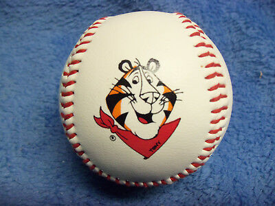 """Vintage 1990's Kellogg's Frosted Flakes """"Tony the Tiger"""" Promotional Baseball"""