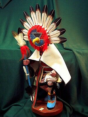 Hopi Kachina Doll - Ahola, the Chief Kachina - Magnificent!