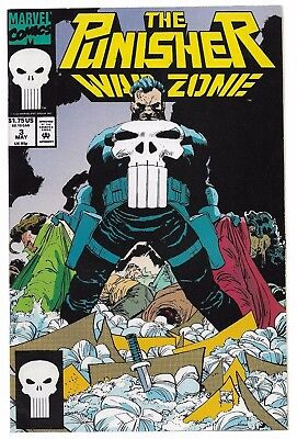 1992 Marvel #3 The Punisher War Zone Comic Netflix Show