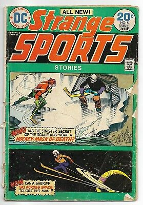 1974 DC Comics #5 Strange Sports Stories Hockey Skiing