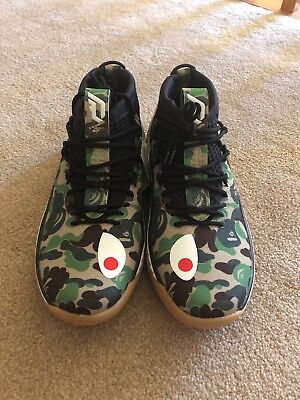 95552316 ... authentic adidas dame for bape x green camo gum stockx verified size 8  shoes brand bfb3c