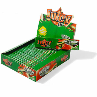 Juicy Jay's Watermelon King Size Slim - 1 PACK - Flavored Gum Rolling Papers