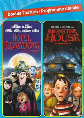 Hotel Transylvania / Monster House (Double Fea New DVD