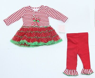 Bonnie Baby Girls Baby Christmas Holiday Outfit Dress - Size 3-6 Month NWT - EUC SIZE 12M Girls Bonnie Baby Christmas Outfit - $8.00 PicClick