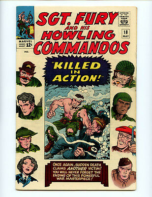 Sgt. Fury 18 Nice original owner collection! FN/VF