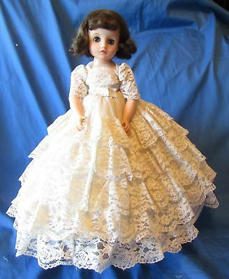 "Brunette Elise 15"" Madame Alexander Fifties Doll ~Tagged Gown"