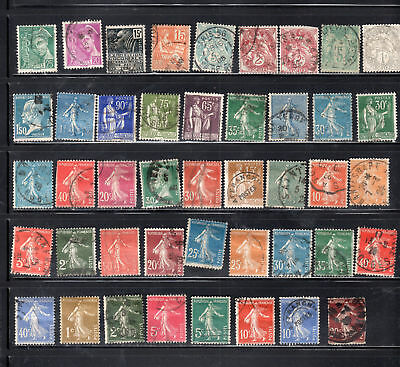 France Europe  Stamps Canceled Used    Lot 35262