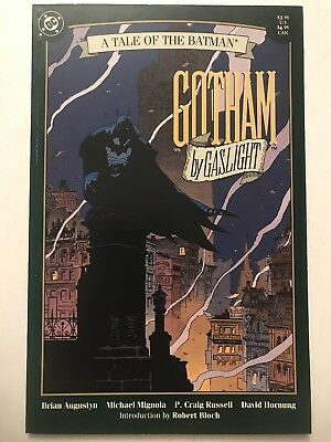 GOTHAM BY GASLIGHT Prestige TPB, DC (1989) Mike Mignola 1st Ptg VF/NM