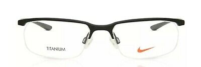 9e548448c7 NEW NIKE EYEGLASSES NK 6037 001 Black Titanium Frames 53mm -  87.00 ...