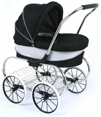 Valco Baby Princess Doll Stroller - Raven  (SOLD OUT OCT )